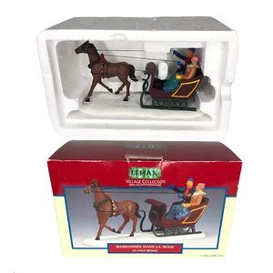 Lemax Village Collection Horse Carriage Sleigh